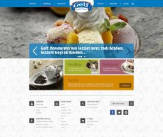 Ulker Golf Ice Cream Web Design by eskikitapci