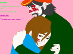 Me and Kenny Hugging by Thunderstar711