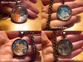 Necklaces batch 3 by thelunacy-fringe