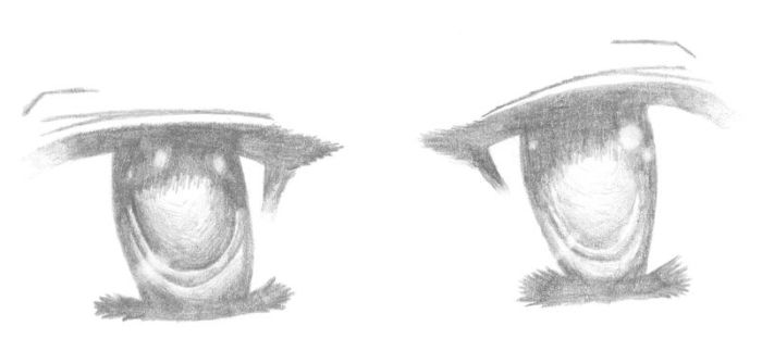 Anime Eyes by D-Junzo