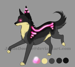 Glow Adopt(closed) by JessaDooAdopts