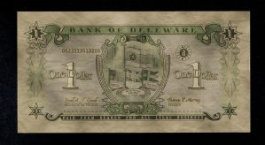 Delaware One Dollar by Alt-Reality