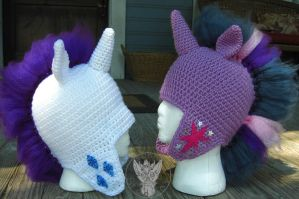 My Little Mohawks Set 2 by TheCrochetDragon