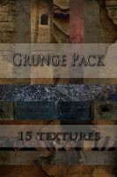 Grunge Texture Pack 15 by simfonic