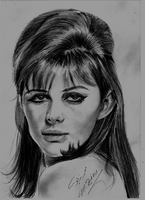 Claudia Cardinale by Mohamed Ziou by MoZiou