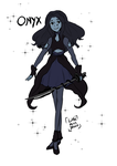 Gemsona: Onyx by Little-Miss-Boxie