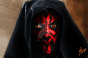 Darth Maul by DesignByLazo