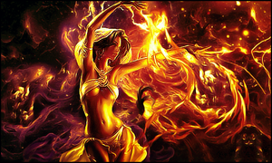 Fire Girl by Nushulica