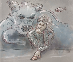 Saltwater Witch Comic Chapter 17 update by the0phrastus