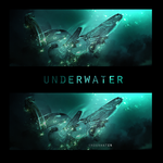 underwater - abstract by Meloku123