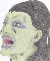Queen Tania drawing by Hellraiser-89