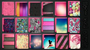 Icons Aquave Pink Mixess by kamysweet