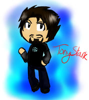 Tony Stark by creepyTechnician