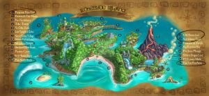 Island Map by KIRKparrish