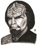 Worf by Christhopper