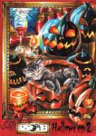 Hallowe'en 2 Sketch Card - Achilleas Kokkinakis 3 by Pernastudios