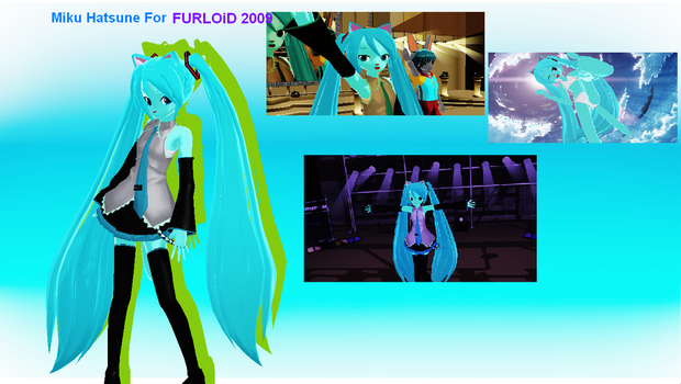 Hatsune Miku For FURLOiD 2009! by mikumikuvideos