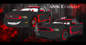 Alex Redline (design change from 2011-2015) by xxCaliforniaAngelxx