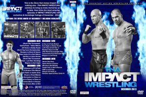 TNA Impact Wrestling December 2013 DVD Cover by Chirantha