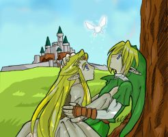 Faerie Encounter by HyruleMaster