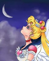 Eternal Sailor Moon by LadyD666