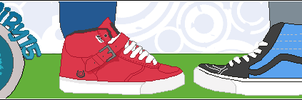 Vans shoes by CiRy15