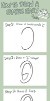 How To Draw A Simple Ear by Chiibe