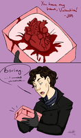 Moriarty hearts Sherlock by EndForEternity