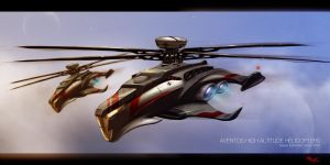 Helicopter by Kronium