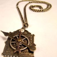 Moving Parts Gypsy Necklace by SteamSociety
