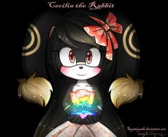 Commish: Cecilia the Rabbit by Sayamiyazaki