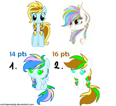 MLP: PONY FUSION ADOPT! [CLOSED] by SwirlingMelody