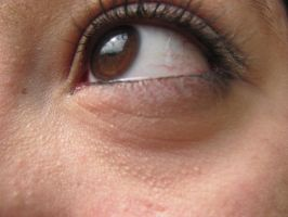 Brown eyes. Stock. 1 by Skysofdreams-Stock