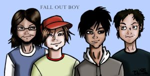 Fall out Boy by Bliss-23