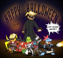 Happy Halloween 2008 by Arbok-X
