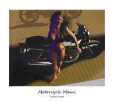 Motorcycle Mama by montalvo-mike