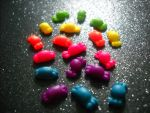 rainbow candies minis by toxiclysweet