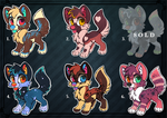 Adopt batch 1 (Auction) by DandyDuo