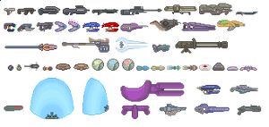 Halo Weapons Sprites by purplejub1993DJC