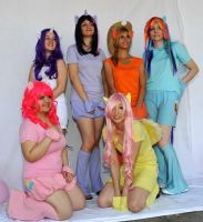 MIP Friendship is Magic group by PuchikoCosplay