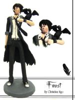 Faust Figurine by ember-snow