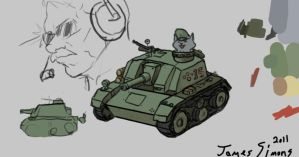 Cat Tank by JamesSimons