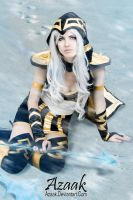 Ashe - Freljord queen by Azaak