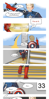 Steve Rogers takes the stairs by ice-cream-skies