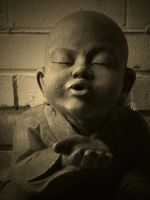LITTLE BUDDHA #3 by ANDYBURGESS