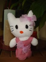 Hello Kitty Plushie by NIGHTSandTAILSFAN
