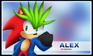 Alex the Hedgehog 3D by Domestic-hedgehog