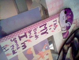 Twilight Sparkle Bookmark~ by NatWithLeCopic