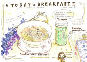 #daily054 Today's Breakfast (6) by tinashan