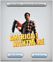 Alan Wake American Nightmare - Icon by Crussong